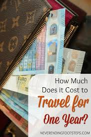 how much does it cost how much does it cost to travel the for a year my 2015 expenses