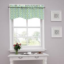 traditions by waverly make waves tailored window valance walmart com