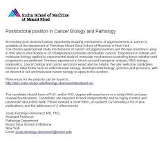 cover letter for phd in cancer biology cover letter templates