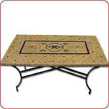 Mosaic Table L Moroccan Furniture Mosaic Marble Dining Table