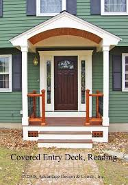 covered front porch plans best 25 front door overhang ideas on front door