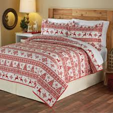 mainstays christmas sweater holiday quilt set walmart com