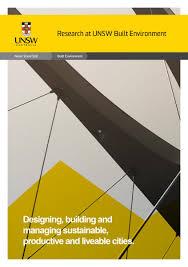 publications built environment unsw sydney