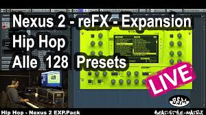 halloween wood blocks nexus 2 refx expansion hip hop alle 128 presets live play