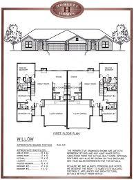duplex plans with garage in middle duplex plan with garage in middle unique references house ideas