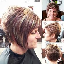 asymmetrical hairstyles for older women hair style fashion
