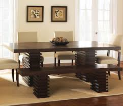 steve silver briana dining table w 18 inch leaf in dark espresso