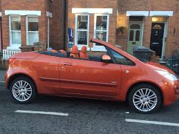 2008 orange mitsubishi colt czc for sale in chelmsford essex