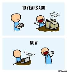 Meme Vs Meme - you got mail 10 years ago vs now viral viral videos