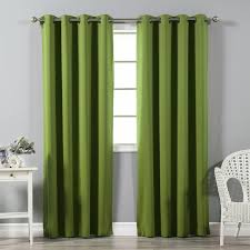 Dark Teal Curtain Panels Best Home Fashion Inc Solid Blackout Thermal Grommet Curtain