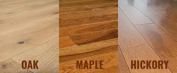 Hardwood Plank Flooring Oak Flooring Vs Maple And Hickory Flooring Homeflooringpros
