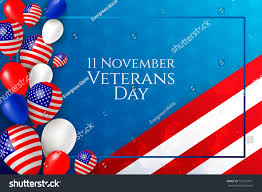 11 november happy veterans day flyer stock vector 731315971