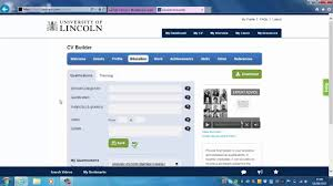 Cv Builder by How To Use The Cv Builder Career Tool On Blackboard To Make Your