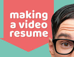 making a video resume biteable