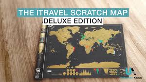 World Scratch Map by Itravel Scratch Map Underwateraddicts Com Youtube