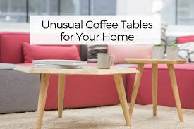 Pink Coffee Table Unusual Coffee Tables For Your Home Your Wild Home