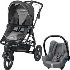 Poussette High Trek Siège Auto Poussette Bebe Confort Duo High Trek Cabriofix Concrete Grey Sur