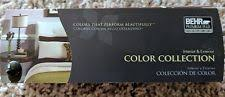 behr paint color collection palette fan deck book ebay