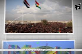 in a new video from kirkuk wilayat a sorani speaking isis