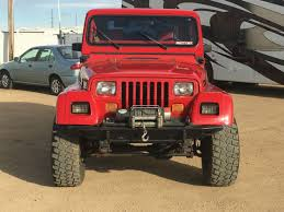 Jeep Wrangler Leather Interior Jeep Wrangler Yj 4x4 Automatic Leather Seats Air Conditioning 100