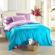 aqua blue purple lilac bedding set king size queen quilt doona