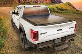 Ford Raptor Bed Cover - weathertech 8hf010026 alloycover hard tri fold pickup truck