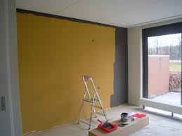 Yellow Feature Wall Bedroom Mustard Yellow Walls Home Design Ideas