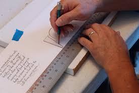 prayer promises accordion book steve husting u0027s calligraphy