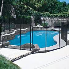 Backyard Pool Safety by Amazon Com In Ground Pool Safety Fence 4ft X 10 Ft Section