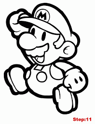 paper mario coloring pages coloring