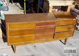 Mcm Furniture Modern Dresser Makover Mid Century Chic Prodigal Pieces