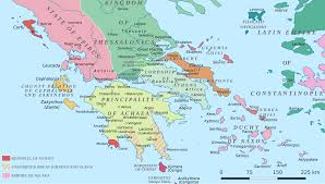 Map Of Santorini Greece by Duchy Of Athens Wikipedia