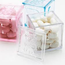 wedding favor containers plastic baby block favor boxes set of 12 baby shower favors