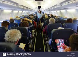 Airplane Interior Airplane Interior Full Of Passengers Stock Photos U0026 Airplane