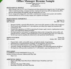 best office manager resume example livecareeroffice manager