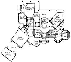 mediterranean style house plan 3 beds 3 50 baths 3831 sq ft plan