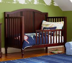 How To Convert Crib To Bed Toddler Bed Conversion Kit Pottery Barn