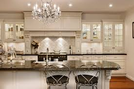 modern country kitchen decor with white ceramic backsplash and