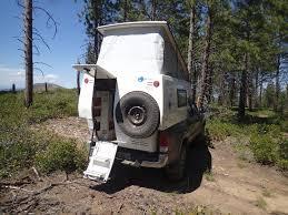 nissan titan pop up camper earthcruiser announces gzl pop up truck camper u2013 truck camper