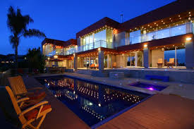 Exterior Unbelievable Design Balcony Lighting by Unbelievable Modern Home Exterior Designs