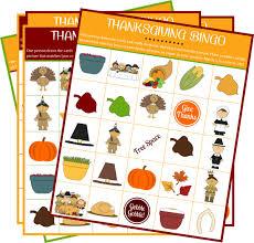 printable bingo for for thanksgiving happy thanksgiving