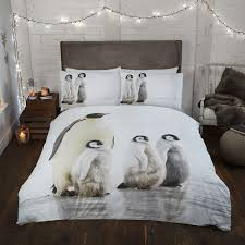 Christmas Duvet Covers Uk Penguin Easy Care Christmas Duvet Set Julian Charles
