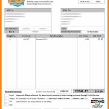 courier invoice template fern spreadsheet