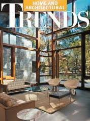 home and architectural trends magazine awards and published work for bjella architects modern houses