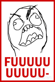 Fuuuu Memes - fuuuu rage comic meme poster rage comics and comic