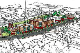 long stalled east point town center project back in play curbed