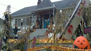 standout halloween houses in new west ghoulish garish and creepy