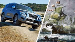 nissan armada 2017 vs patrol epic spec battle 2017 nissan armada vs 1588 spanish armada