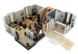 briliant 3d floor plan home ideas 700x489 135kb
