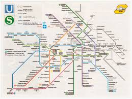 Cold War Germany Map Overview Of The Berlin Subway 1984 Cornell University Library
